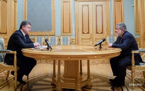 Коломойский сравнил Порошенко с Януковичем