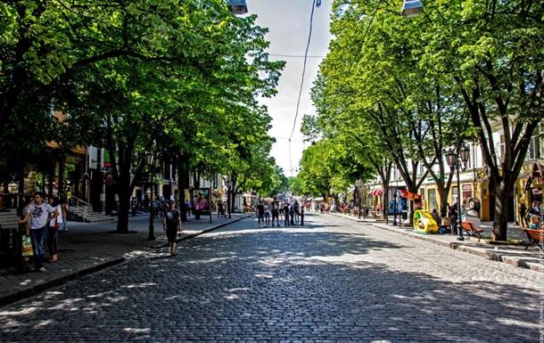 На Дерибасовской хорошая погода, а вот в Донецк опять идут дожди