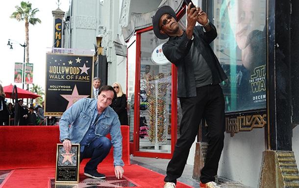Тарантино удостоился звезды на  Аллее славы  Голливуда