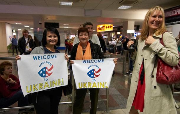 В Украину едут добровольцы Корпуса мира США
