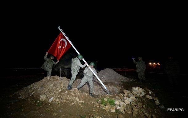 Турция назвала условия полного вывода войск из Ирака