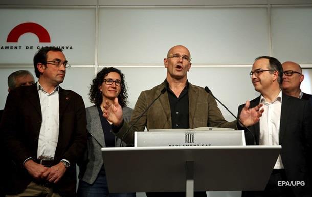 Сепаратисты Каталонии хотят создать региональное правительство