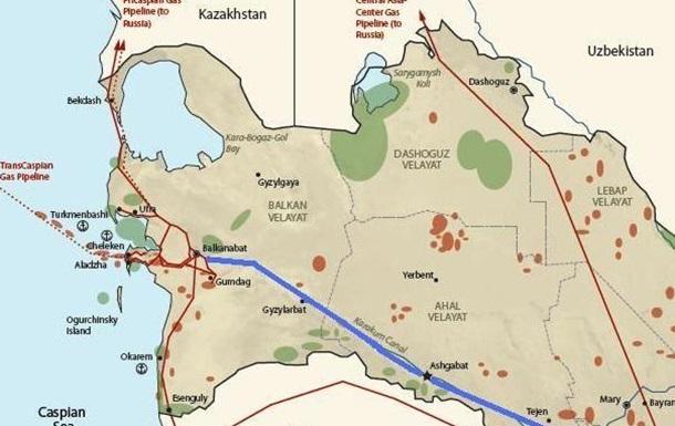 В Туркмении сдан в эксплуатацию магистральный газопровод  Восток-Запад