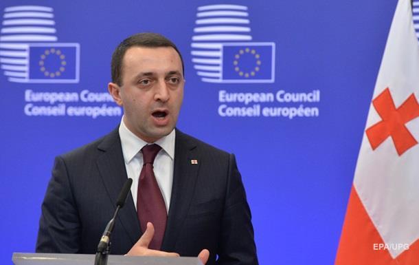 Премьер Грузии заявил об отставке