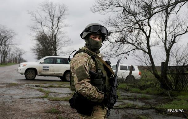 Въезд в поселок Коминтерново заминирован - ОБСЕ