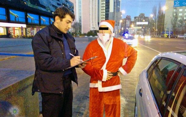 Полиция Киева задержала Санта-Клауса