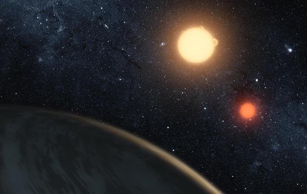 Снимок орбиты планеты Kepler-16b