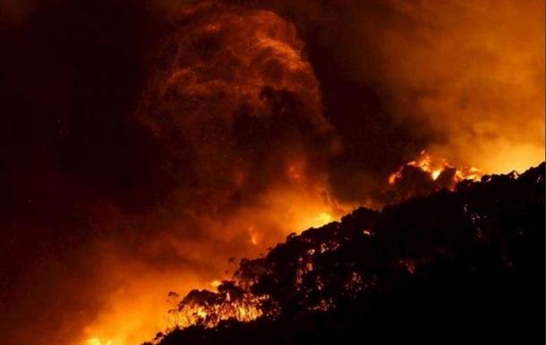 Австралию охватили сильные пожары