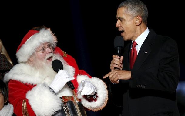 Обама опубликовал любимые рождественские песни