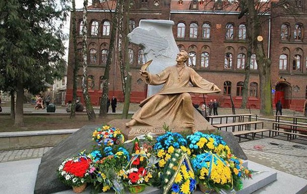 Во Львове открыли памятник автору гимна Украины