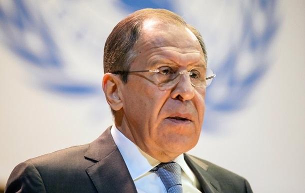 Лавров уличил ЕС в расхождении заявлений по Украине