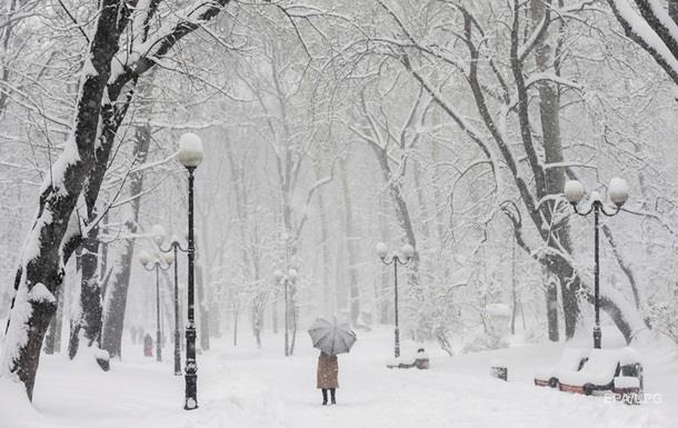 Под Новый год в Украину придут морозы