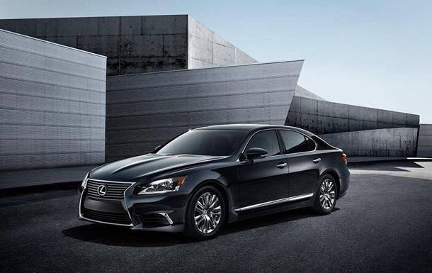 Новогодние  предложения на Lexus LS