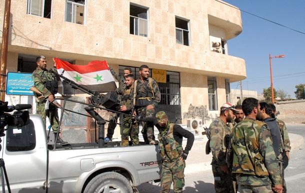 Армия Асада вошла в два населенных пункта