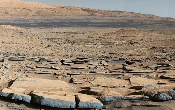 Каменная лавина и Олимп. Новые фотографии Марса