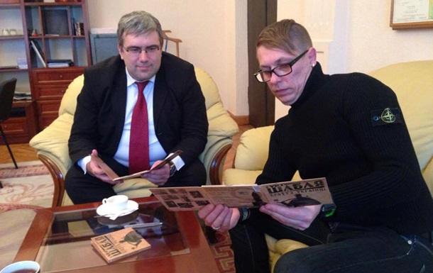 У Порошенко одобрили гимн АТО