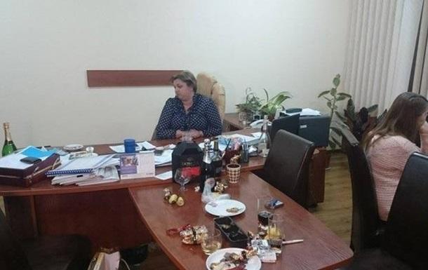 Подчиненную Саакашвили поймали на взятке