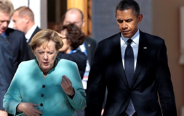 Обама в апреле встретится с Меркель