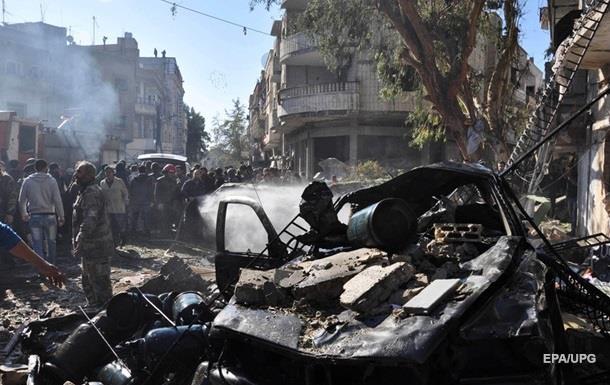 В Сирии в результате трех взрывов погибли 13 человек