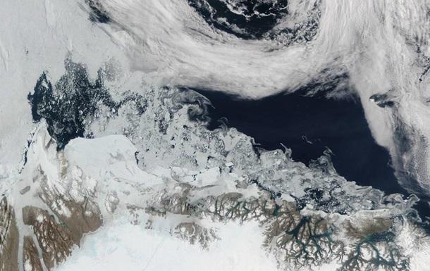 Север тает. Температура в Арктике поднялась выше нуля