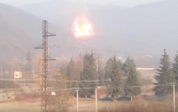 Для ликвидации аварии на газопроводе в Закарпатье надо трое суток