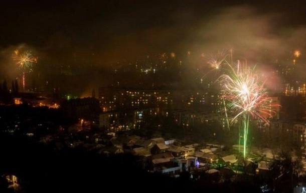 Только 77% крымчан встретили Новый год со светом