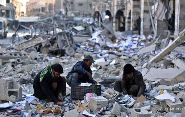 Активисты: в осаждённом городе в Сирии начался голод