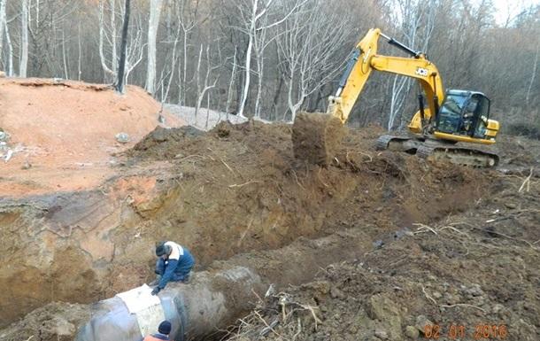 На Закарпатье завершен ремонт газопровода