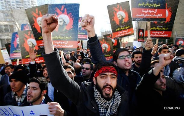 Анти-саудовские протесты в Иране