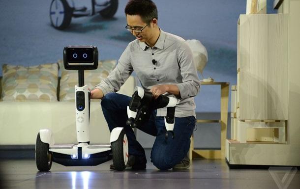 Intel представил роботизированный ховерборд