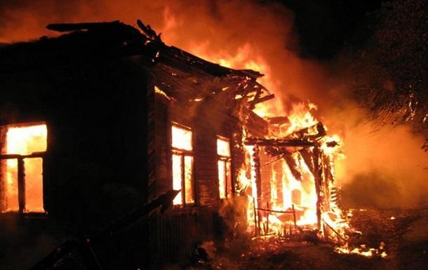 При пожаре в Донецкой области сгорели три человека