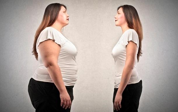 девушка с лишним весом и без