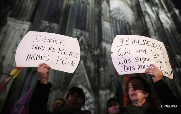 Жертвы сексуальных атак в Кельне вышли на протест