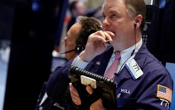 На биржах США отмечено рекордное падение индексов