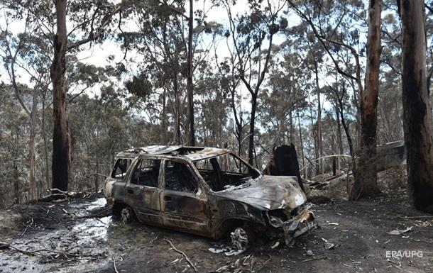 Жители Австралии покидают дома из-за лесных пожаров