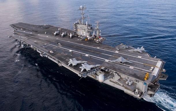 США заявили о военных учениях Ирана вблизи американского авианосца