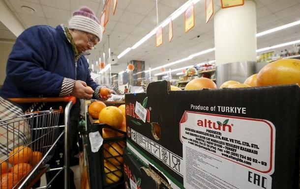 В России уничтожили 225 кг турецких мандаринов