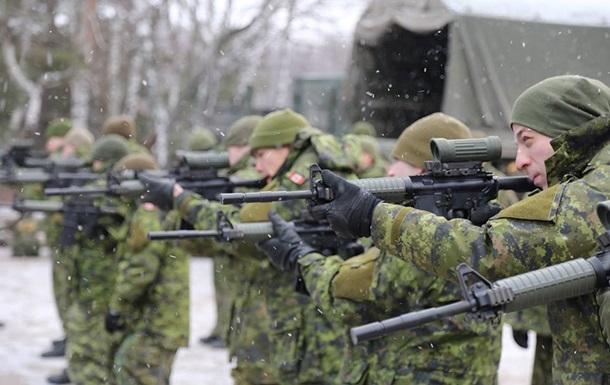 В Украину едут канадские военные