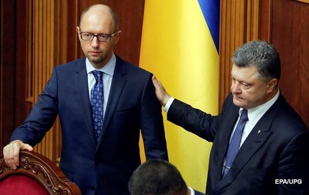 Яценюк отрицает договоренности с Коломойским