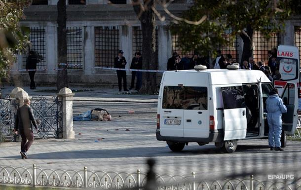Взрыв в Стамбуле фото