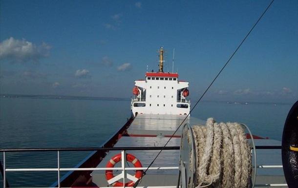 В Азовському морі сіло на мілину іноземне вантажне судно
