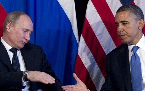 Обама поговорил с Путиным об Украине