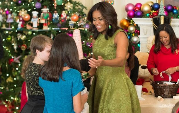 Обама не видит жену на посту президента США