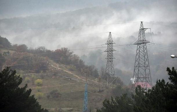 «Влада» окупованого Криму відмовилася від української електроенергії