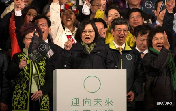 Выборы на Тайване выиграла  азиатская Меркель