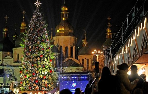 В Киеве прошла церемония закрытия главной елки страны