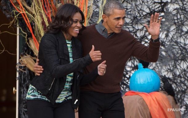 Обама с супругой в день ее рождения посетили мексиканский ресторан
