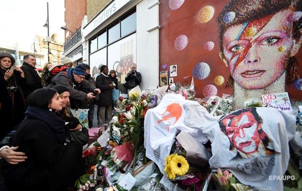 Прах Дэвида Боуи захоронили в секретном месте - СМИ