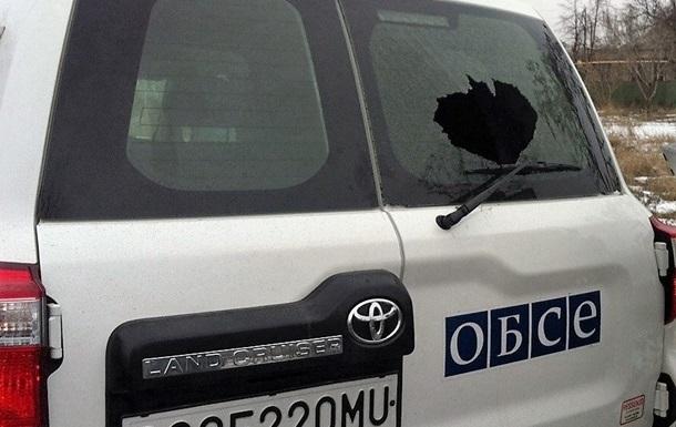 В ОБСЕ возмущены обстрелом авто в Марьинке
