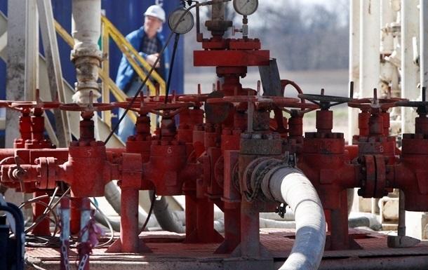 Украина сократила запасы природного газа на 27%